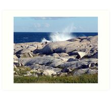 Rockhounds Art Print