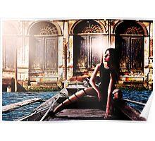Venice Girl Fine Art Print Poster