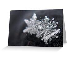 Crystals Greeting Card