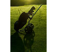 Early Morning Golfing Photographic Print