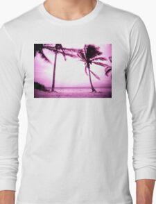 STORMY PALM Long Sleeve T-Shirt