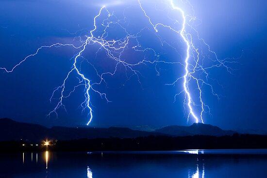 Lightning Thunderstorm 08.05.09 by Bo Insogna