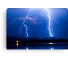 Lightning Thunderstorm 08.05.09 Canvas Print