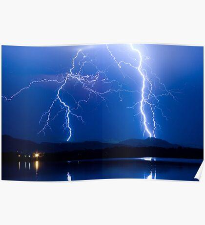 Lightning Thunderstorm 08.05.09 Poster