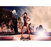 High Fashion Yacht Fine Art Print Photographic Print