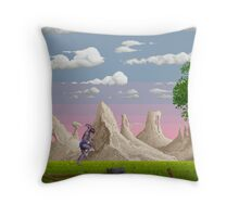 Shadow of the Beast Throw Pillow
