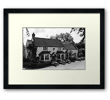 The George and Dragon Framed Print
