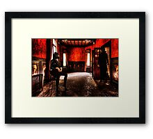 Love Meeting Fine Art Print Framed Print
