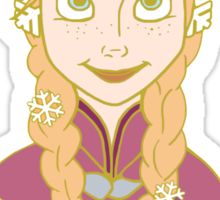 Winter Princess Sticker