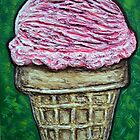"""Pink Cake Cone"" by Adela Camille Sutton"