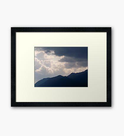 Arctic Storm Framed Print