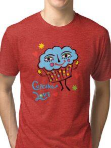 Cupcake Love Tri-blend T-Shirt