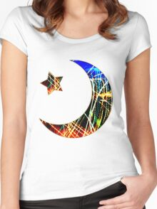 Night Life Women's Fitted Scoop T-Shirt