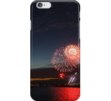 Cowes Week Fireworks iPhone Case/Skin