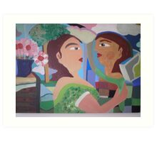 Mirror For sale 400.00 Euros Art Print