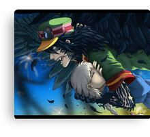 To Protect - Howl's Moving Castle Canvas Print