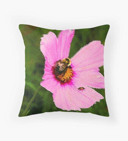 Bumble Bee / Summer / Throw Pillow