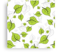 BirchLeaves Canvas Print