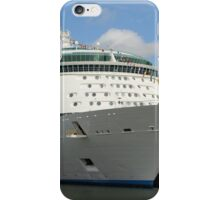 Independence of the Seas docked in Southampton iPhone Case/Skin