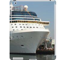Celebrity Eclipse docked in Southampton iPad Case/Skin