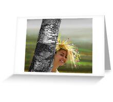 Berehynia Greeting Card