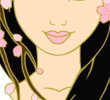 Spring Princess Sticker