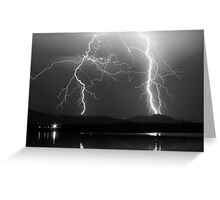 Lightning Storm 08.05.09 Greeting Card
