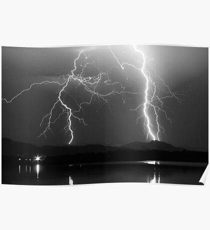 Lightning Storm 08.05.09 Poster