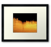 A Turner In The Fraser Framed Print