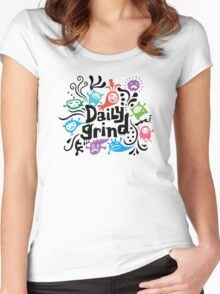 Daily Grind  Women's Fitted Scoop T-Shirt