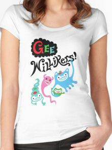 Gee Willikers  Women's Fitted Scoop T-Shirt