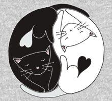 Yin Yang Cats Kids Clothes