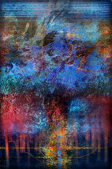Unconscious Wisdom in a Sad Tree by linaji