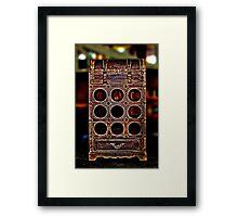 Old Wine Box Fine Art Print Framed Print