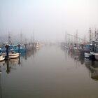 The Fleet In Fog by jakking