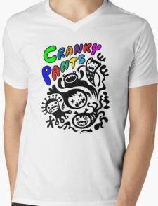 Cranky Pants   Mens V-Neck T-Shirt