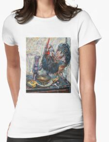 Still Life 5 Womens Fitted T-Shirt