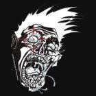 Zombie Headshot - 2 by SEspider