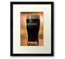 Nothing beats a Guinness Framed Print