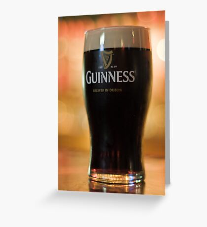 Nothing beats a Guinness Greeting Card