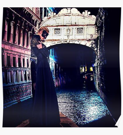 High Fashion Venice Fine Art Print Poster