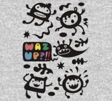 Waz Up   One Piece - Long Sleeve