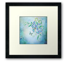 Blue Butterfly! SALE! Framed Print