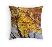 Flaming Trees / Throw Pillow