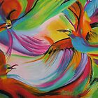 Fire Birds by Estelle O'Brien