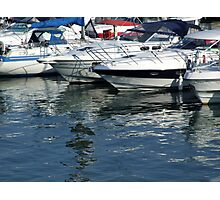 Reflections at Brighton Marina Photographic Print