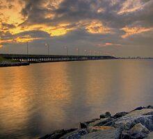 Bay Bridge at Sunrise by Michael Mill