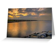 Bay Bridge at Sunrise Greeting Card