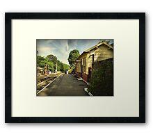 GOATHLAND Framed Print