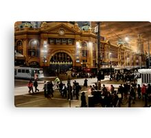 Flinders Street Station Canvas Print